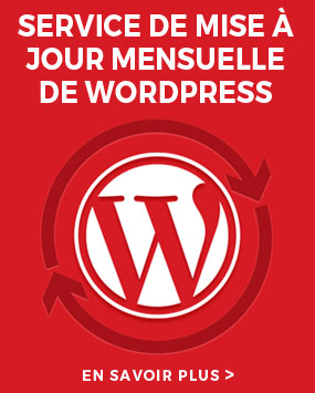 mise a jour Wordpress