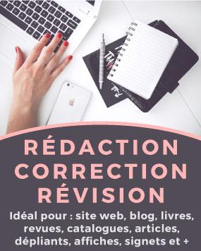 redaction correction révision
